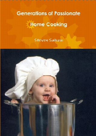 Generations of Passionate Home Cooking Cookbook coming soon